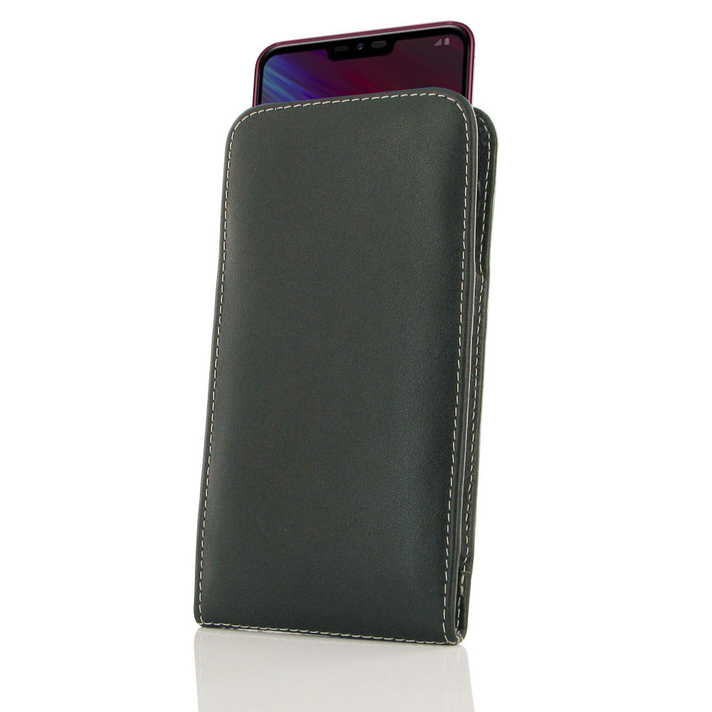 10% OFF + FREE SHIPPING, Buy the BEST PDair Handcrafted Premium Protective Carrying LG Q9 Leather Sleeve Pouch Case. Exquisitely designed engineered for LG Q9.