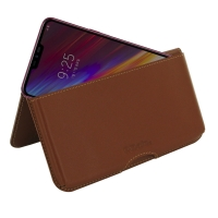 10% OFF + FREE SHIPPING, Buy the BEST PDair Handcrafted Premium Protective Carrying LG Q9 Leather Wallet Pouch Case (Brown). Exquisitely designed engineered for LG Q9.