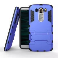 LG V10 Tough Armor Protective Case (Blue)