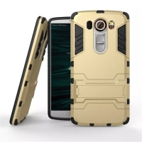 LG V10 Tough Armor Protective Case (Gold)