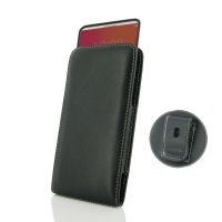 Leather Vertical Pouch Belt Clip Case for LG V20 (in Slim Case/Cover)