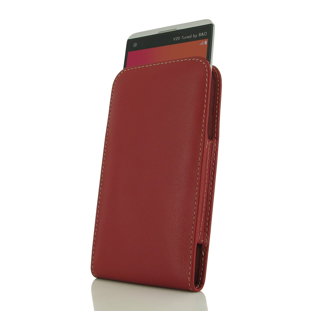 10% OFF + FREE SHIPPING, Buy Best PDair Quality Handmade Protective LG V20 Genuine Leather Sleeve Pouch Case (Red) online. Pouch Sleeve Holster Wallet You also can go to the customizer to create your own stylish leather case if looking for additional colo
