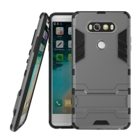 LG V20 Tough Armor Protective Case (Grey)