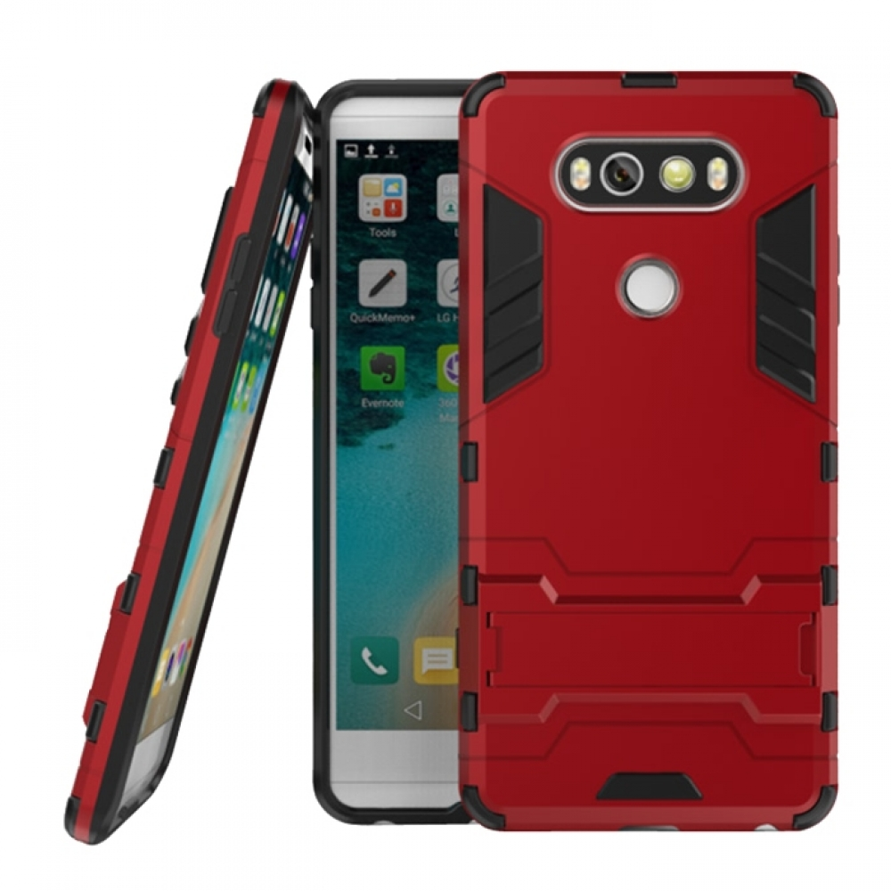 cheap for discount 81cb2 a65f1 LG V20 Tough Armor Protective Case (Red)
