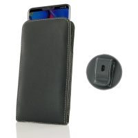 10% OFF + FREE SHIPPING, Buy the BEST PDair Handcrafted Premium Protective Carrying LG V40 ThinQ Pouch Case with Belt Clip. Exquisitely designed engineered for LG V40 ThinQ.