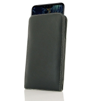 Leather Vertical Pouch Case for LG V50 ThinQ 5G
