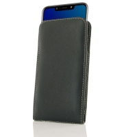 Leather Vertical Pouch Case for LG W10