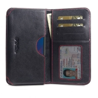 10% OFF + FREE SHIPPING, Buy the BEST PDair Handcrafted Premium Protective Carrying LG W30 Leather Wallet Sleeve Case (Red Stitch). Exquisitely designed engineered for LG W30.