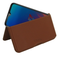 10% OFF + FREE SHIPPING, Buy the BEST PDair Handcrafted Premium Protective Carrying LG W30 Pro Leather Wallet Pouch Case (Brown). Exquisitely designed engineered for LG W30 Pro.