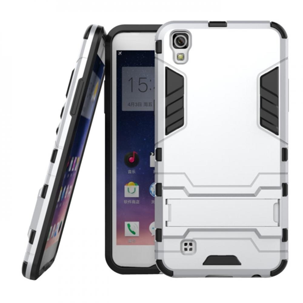 sale retailer 76f61 b6588 LG X Power Tough Armor Protective Case (Silver)