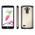 LG G4 Stylus Hybrid Combo Aegis Armor Case Cover (Gold) protective carrying case by PDair