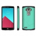 LG G4 Hybrid Combo Aegis Armor Case Cover (Green) protective carrying case by PDair