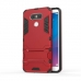 LG G6 Tough Armor Protective Case (Red) custom degsined carrying case by PDair