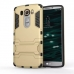 LG V10 Tough Armor Protective Case (Gold) protective carrying case by PDair