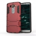 LG V10 Tough Armor Protective Case (Red) protective carrying case by PDair