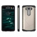 LG V10 Hybrid Combo Aegis Armor Case Cover (Silver) protective carrying case by PDair