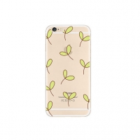 Little Leaf Pattern iPhone 6s 6 Plus SE 5s 5 Pattern Printed Soft Case