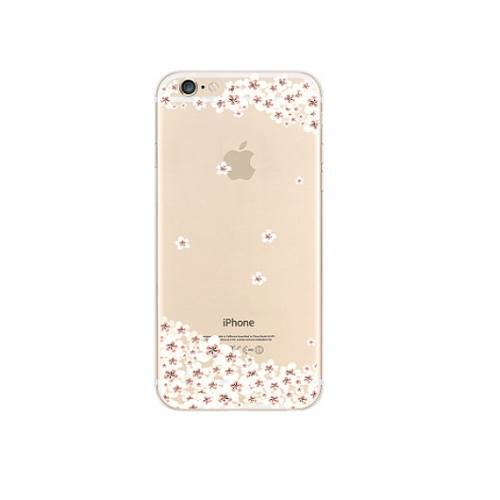 10% OFF + FREE SHIPPING, Buy PDair iPhone Soft Clear Case (Little Sakura Cherry Petals Floral) which is available for iPhone 5 | iPhone 5s SE 6 6s, iPhone 6 Plus | iPhone 6s Plus. You also can go to the customizer to create your own stylish leather case i