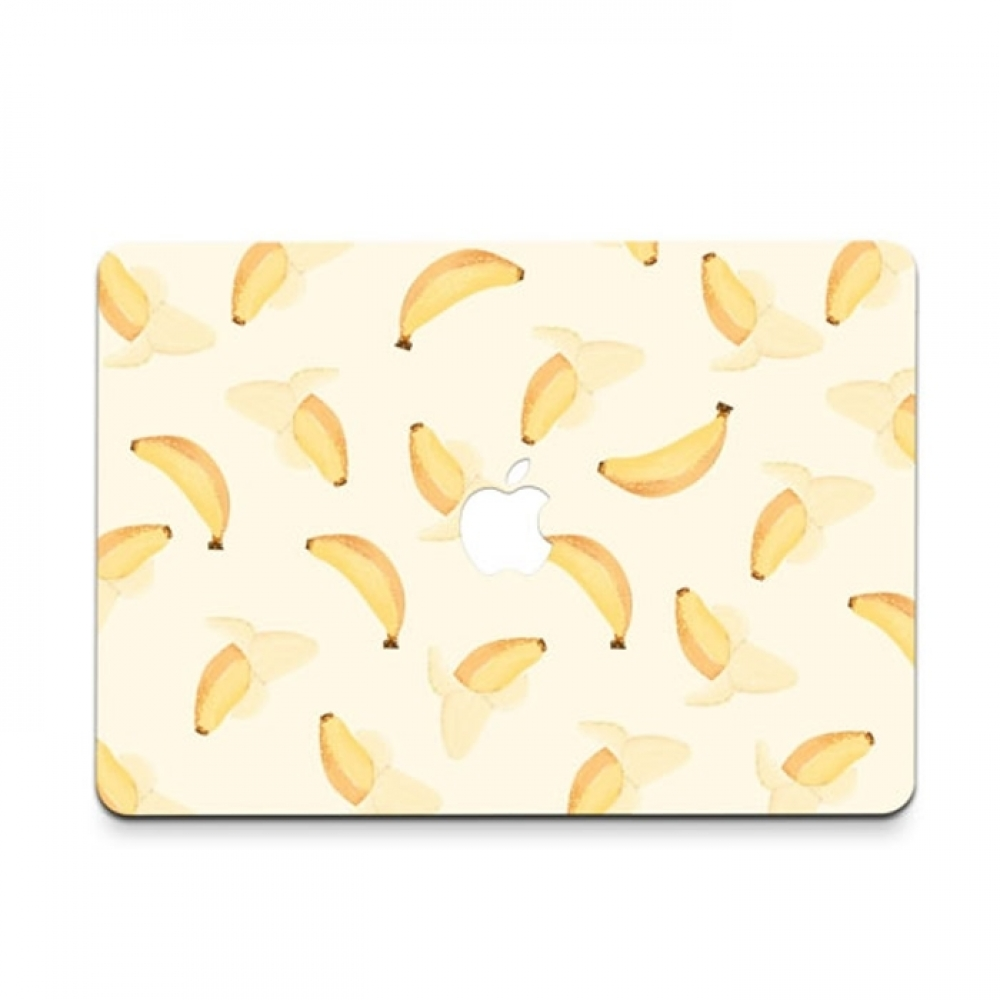 10% OFF + FREE SHIPPING, Buy PDair MacBook Air Pro Decal Skin Set (Banana Pattern) which is availble for MacBook 12