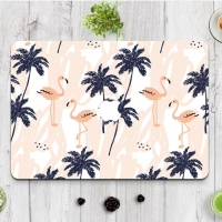 Decal Skin Set for Apple MacBook Air Pro (Flamingo Forest Pattern)