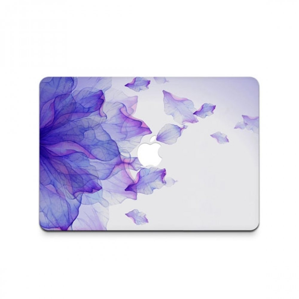10% OFF + FREE SHIPPING, Buy PDair MacBook Air Pro Decal Skin Set (Gradient Purple Leaf) which is availble for MacBook 12