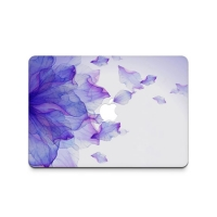 Decal Skin Set for Apple MacBook Air Pro (Gradient Purple Leaf)
