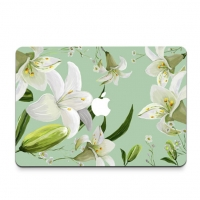 Decal Skin Set for Apple MacBook Air Pro (Lily Flower)