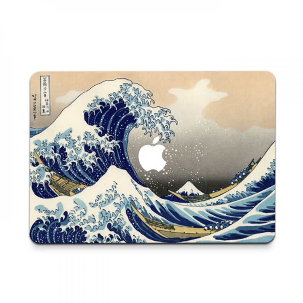 10% OFF + FREE SHIPPING, Buy PDair MacBook Air Pro Decal Skin Set (Ocean Wave) which is availble for MacBook 12