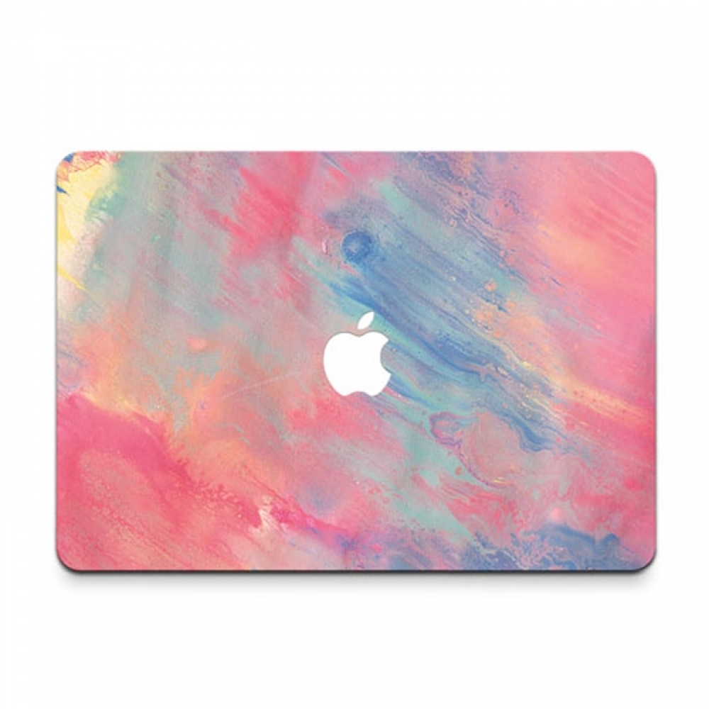 10% OFF + FREE SHIPPING, Buy PDair MacBook Air Pro Decal Skin Set (Pastel Paint) which is availble for MacBook 12