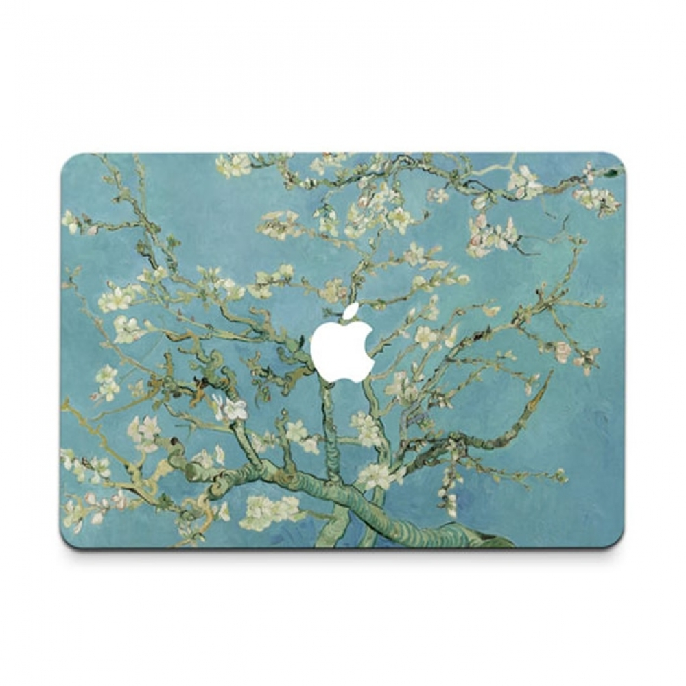 10% OFF + FREE SHIPPING, Buy PDair MacBook Air Pro Decal Skin Set Prunus Armeniaca Flower which is availble for MacBook 12