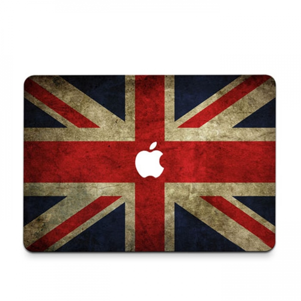 10% OFF + FREE SHIPPING, Buy PDair MacBook Air Pro Decal Skin Set (Vintage British flag) which is availble for MacBook 12