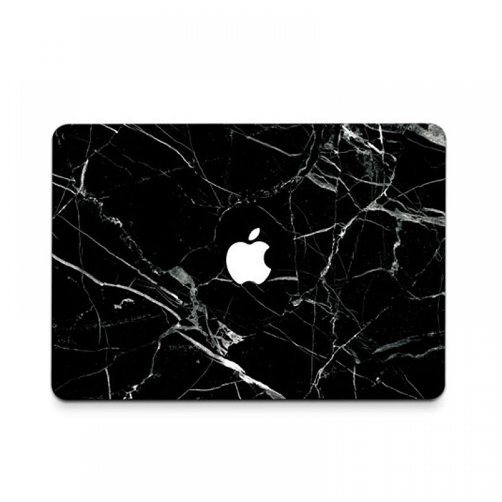 10% OFF + FREE SHIPPING, Buy PDair MacBook Air Pro Decal Wrap Skin Set (Black Marble) which is availble for MacBook 12