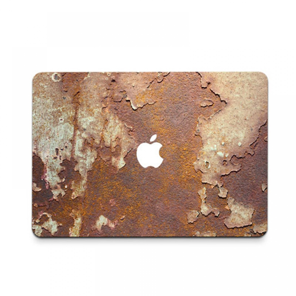10% OFF + FREE SHIPPING, Buy PDair MacBook Air Pro Decal Wrap Skin Set (Iron Rust) which is availble for MacBook 12