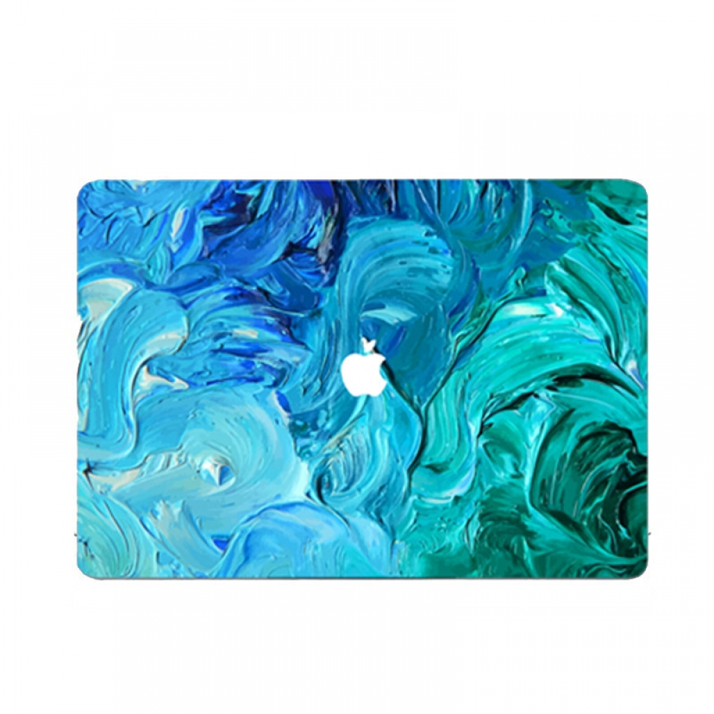 10% OFF + FREE SHIPPING, Buy PDair MacBook Air Pro Decal Wrap Skin Set (Ocean Oil Paint Cloud) which is availble for MacBook 12