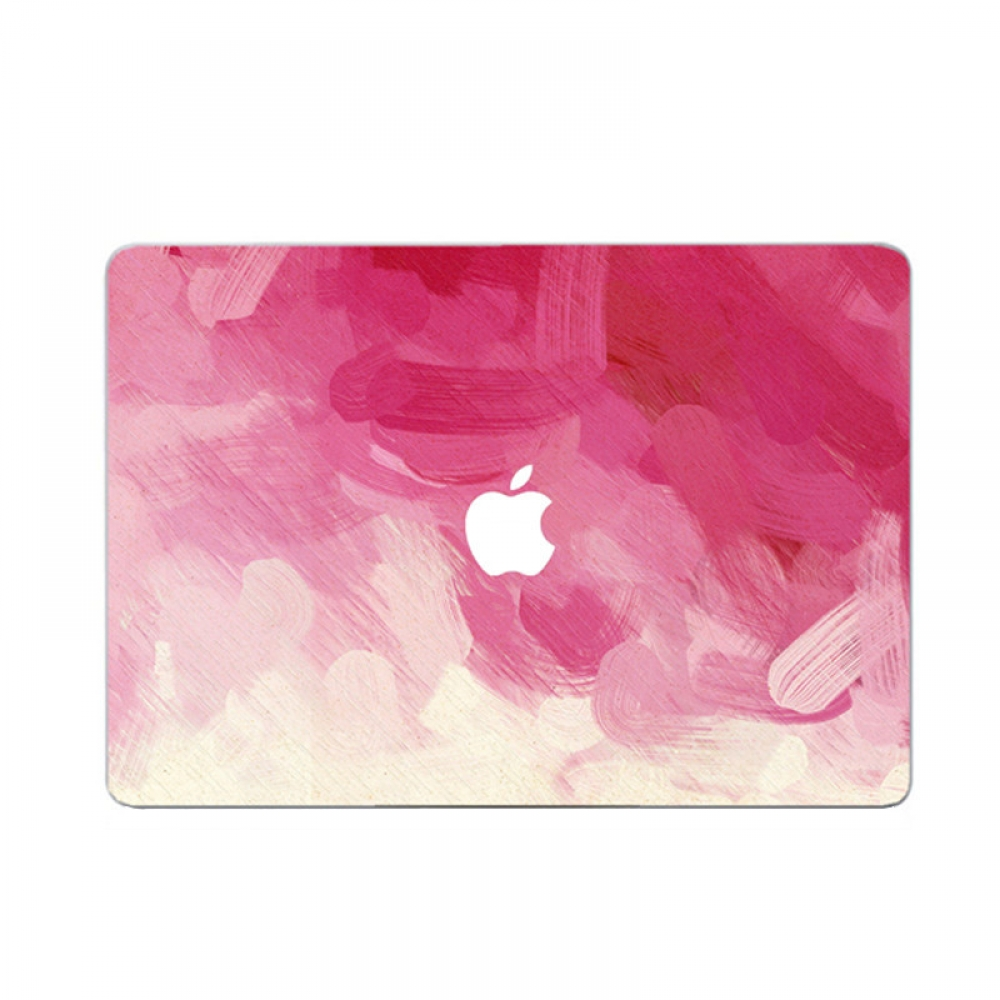 10% OFF + FREE SHIPPING, Buy PDair MacBook Air Pro Decal Wrap Skin Set (Pink Paint) which is availble for MacBook 12