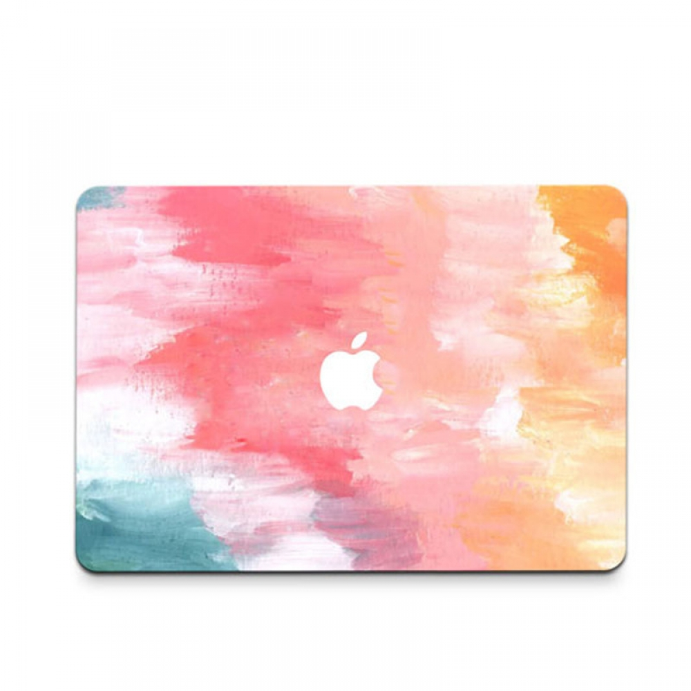 10% OFF + FREE SHIPPING, Buy PDair MacBook Air Pro Decal Wrap Skin Set (Rainbow Paint) which is availble for MacBook 12