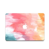 Decal Skin Set for Apple MacBook Air Pro (Rainbow Paint)