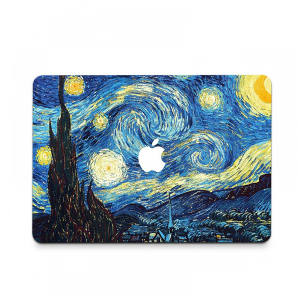 10% OFF + FREE SHIPPING, Buy PDair MacBook Air Pro Decal Wrap Skin Set (Starry Night) which is availble for MacBook 12