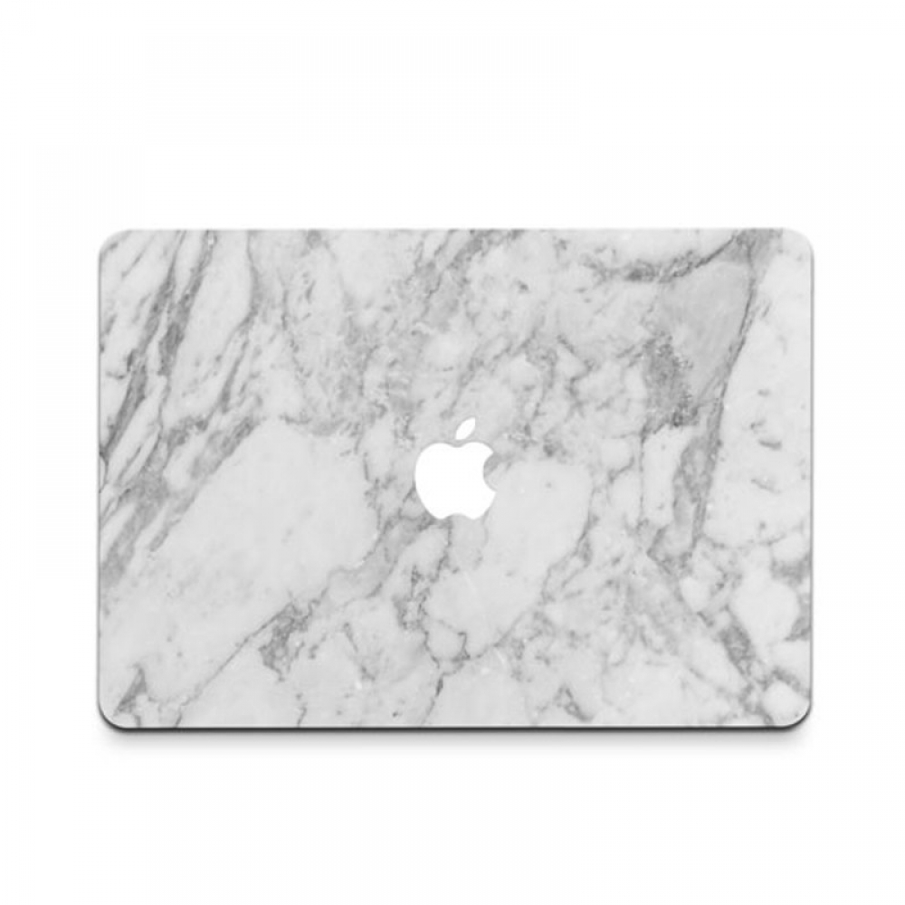 10% OFF + FREE SHIPPING, Buy PDair MacBook Air Pro Decal Wrap Skin Set (White Marble) which is availble for MacBook 12