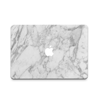 Decal Skin Set for Apple MacBook Air Pro (White Marble)