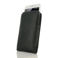 Leather Vertical Pouch Case for MEIZU U10