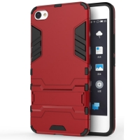 MEIZU U10 Tough Armor Protective Case (Red)
