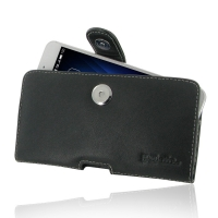 Leather Horizontal Pouch Case with Belt Clip for MEIZU U20