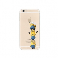 Minions 3 Climbing iPhone 6s 6 Plus SE 5s 5 Pattern Printed Soft Case