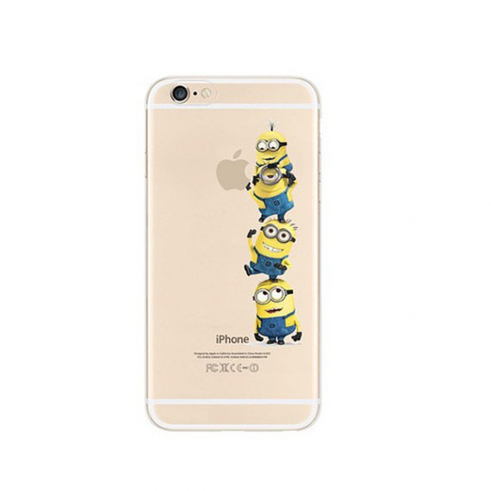 10% OFF + FREE SHIPPING, Buy PDair Top Quality iPhone Soft Clear Case Minions 4 Touch Apple which is available for iPhone 6 | iPhone 6s, iPhone 6 Plus | iPhone 6s Plus, iPhone 5 | iPhone 5s SE You also can go to the customizer to create your own stylish l