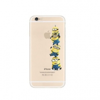 Minions 4 Touch Apple iPhone 6s 6 Plus SE 5s 5 Pattern Printed Soft Case