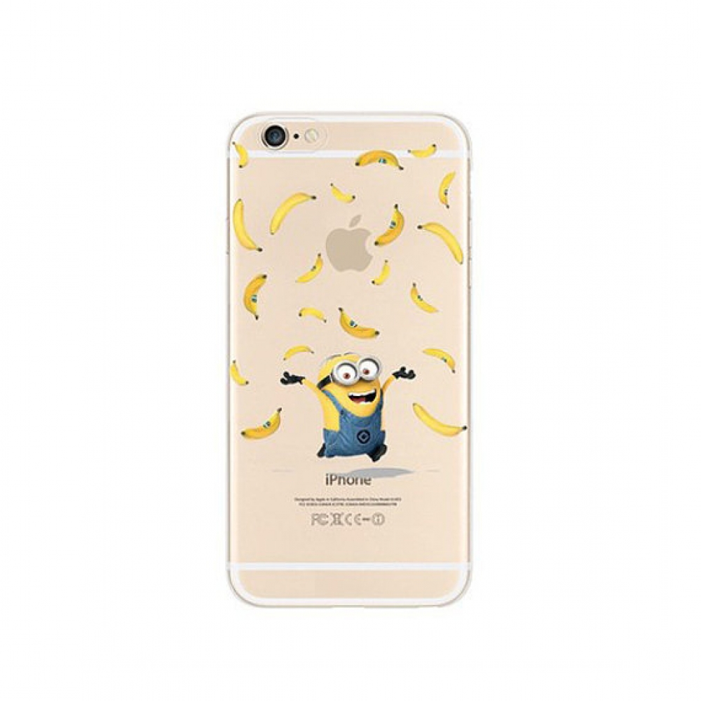 10% OFF + FREE SHIPPING, Buy PDair iPhone Pattern Printed Soft Clear Case (Minions Banana) which is available for iPhone 6 | iPhone 6s, iPhone 6 Plus | iPhone 6s Plus, iPhone 5 | iPhone 5s SE. You also can go to the customizer to create your own stylish l