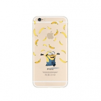 Minions Banana iPhone 6s 6 Plus SE 5s 5 Pattern Printed Soft Case