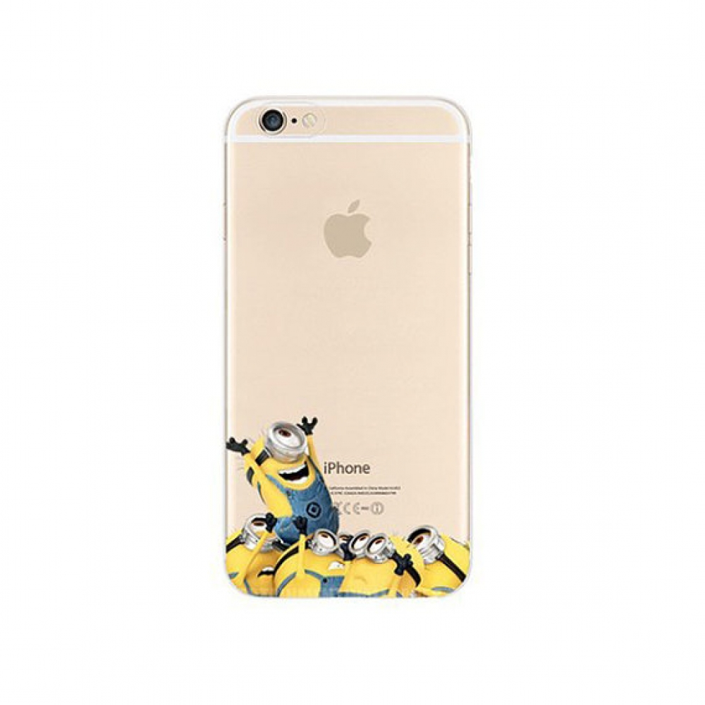 10% OFF + FREE SHIPPING, Buy PDair Top Quality iPhone Soft Clear Case Minions Cheer Welcome which is available for iPhone 6 | iPhone 6s, iPhone 6 Plus | iPhone 6s Plus, iPhone 5 | iPhone 5s SE You also can go to the customizer to create your own stylish l