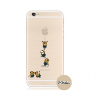 Minions Climbing iPhone 6s 6 Plus SE 5s 5 Pattern Printed Soft Case